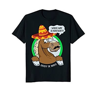 Funny Derby De Mayo Kentucky Horse Race Sombrero Mexican