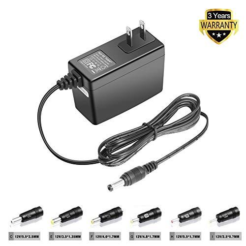 TFDirect 12V Universal Power Supply Charger for Western Digital/Fritzbox/External Hard Drive/Speedport/Speedport/Netgear/Verbatim/Fritz WLAN/Seagate/WLAN Router/LCD Monitor/Cisco/Bose SoundLink Mini