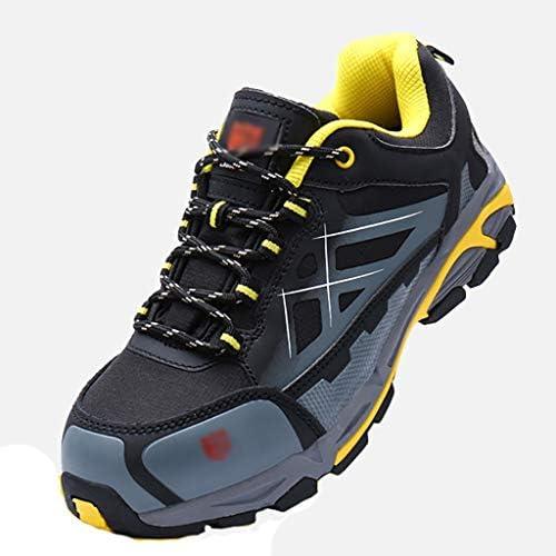 安全靴・作業靴 メンズアウトドアアウトドアシューズメッシュ 夏のローウエストスリム滑り止めカジュアルシューズ快適なトレーニングシューズランニングシューズ (サイズ さいず : 41)