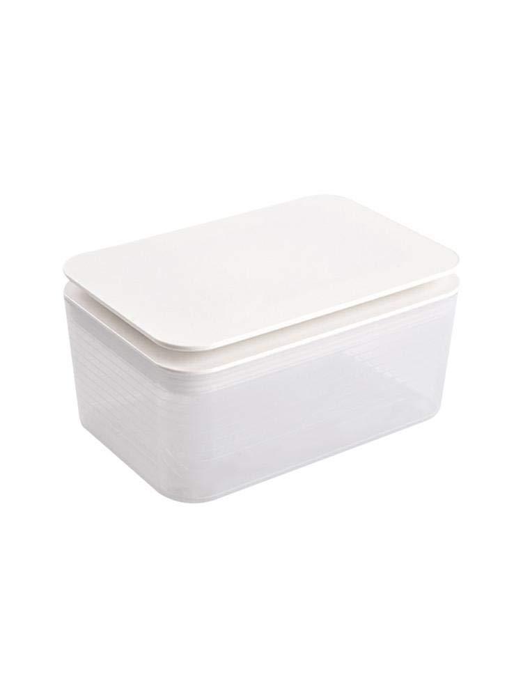 Kunststoff Tissue-Aufbewahrungsbox Feuchtt/ücherbox Aufbewahrungskoffer-Box Home Storage Holder Container Zubeh/ör Nachf/üllbarer Container