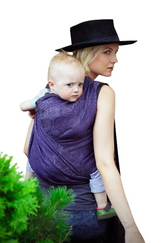 Ellevill Wrap Baby Carrier - Paisley Linen Liberty