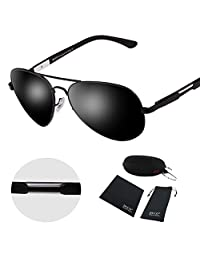Duco Aviator Style Polarized Sunglasses For Outdoor Sports Fishing Golf 3026