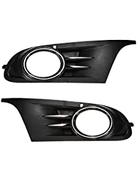 Abs Front Fog Light Grille Cover For Vw Golf Jetta Mk6 S Se (Usa)
