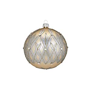 Waterford Holiday Heirlooms Lismore 60th Ball Ornament - Waterford