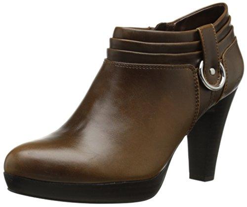 Käkar Kvinna Geva Boot Mörkbrun