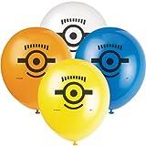 "Unique 12"" Latex Despicable Me Balloons, 8ct"