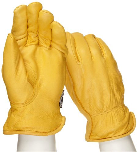 West Chester 9920KT Leather Glove, Medium (Pack of 12 Pairs)