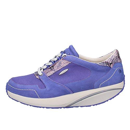 MBT Sneakers Mujer 37 EU Azul Púrpura Cuero