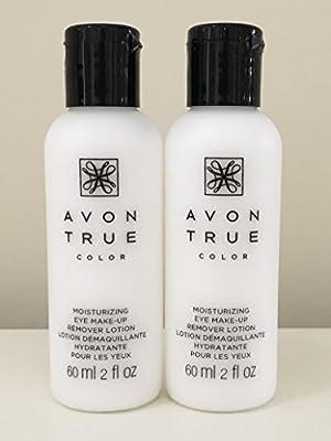 Set of 2 Avon Moisture Effective Eye Makeup Remover Lotion,60 ml/ 2 fl oz each