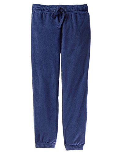 Crazy 8 Little Boys' Fleece Knit Jogger Pant, Navy, L Boys Knit Pants