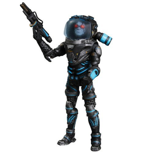 DC Direct Batman: Arkham City: Mister Freeze Deluxe Action Figure