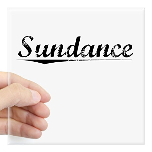 CafePress - Sundance, Vintage Square Sticker 3
