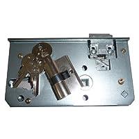 Schlosseinsatz mit Schließzylinder und 3 Schlüsseln / Passend zu unseren Toren