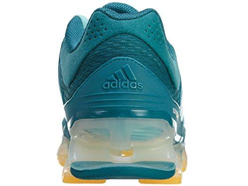 Adidas Springblade Rasoir Femmes Chaussures De Course Puissance Sarcelle / Givre Menthe / Sol Or