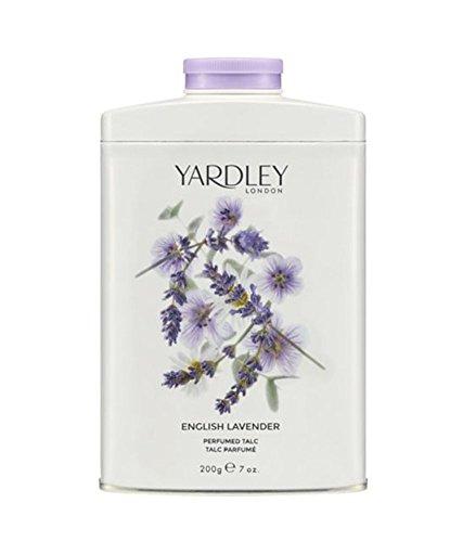 Yardley of London English Lavender Perfumed Talc, 7 Oz, Made in England - NEW ()
