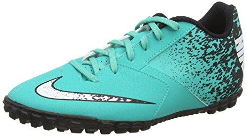 Nike Herren Bombax Tf Fußballschuhe Türkis (Clear Jade/White/Black)