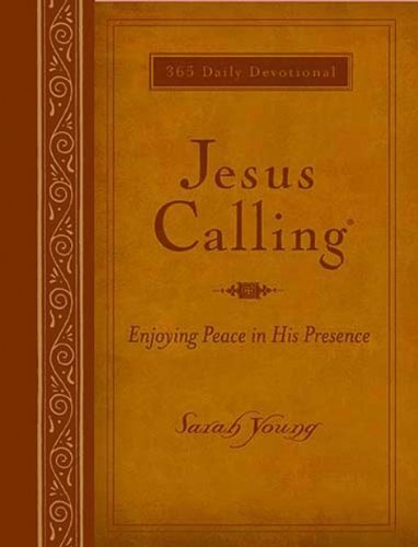 Jesus Calling - Large Deluxe Edition (Leathersoft) by Sarah Young (2011-09-06)