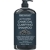 First Botany Cosmeceuticals Activated Charcoal Shampoo 16 fl. oz (Sulfate Free)