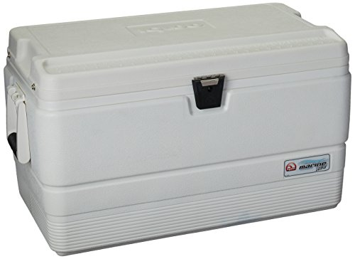 (Igloo Marine Ultra Cooler (White, 72-Quart))