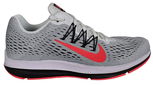 71fae2e76da5 Nike- Air Zoom Winflo 5 Running Shoes White Red Orbit Pure Platinum Cool  Gray Size 11.5 M