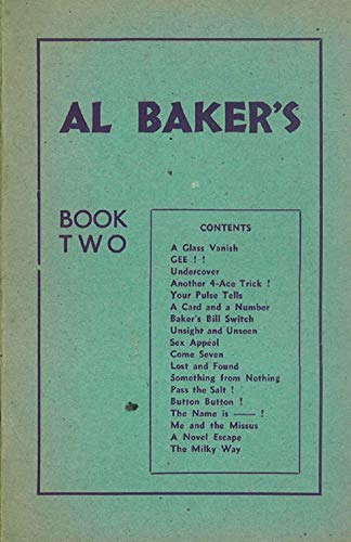 Pdf Entertainment Al Baker's Book Two