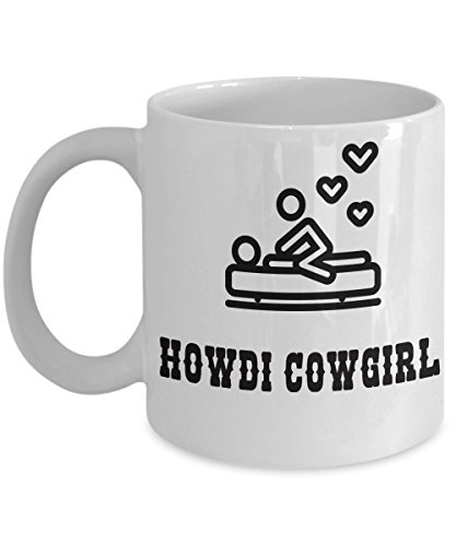 Sexy Valentines Day Mug. - Funny Valentines Gift, Cowgirl, Country Girl, Farm Girl (Halloween Pranks Pizza Box)