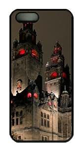Dark Castle Sakuraelieechyan Hard Shell Black Side Cover Skin for Iphone 5 5S