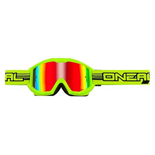 ONeal Crossbrille B1 Flat Gelb