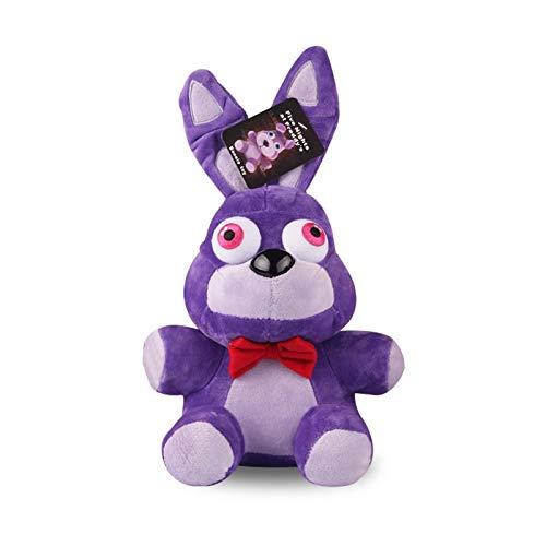 BoldType FNAF - Plush Toys 18cm Five Nights at Freddy's 4 Freddy Bear Chica Bonnie Foxy Plush Keychain Pendant Stuffed Animals Toys Gifts 1 PCs ()