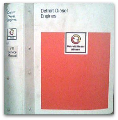 Detroit Diesel Series V-71 Engine Service Manual (1980) ()