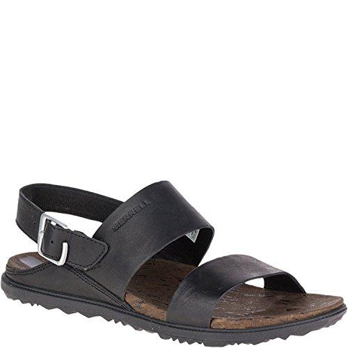Merrell Womens Around Town Backstrap Comfort Sandal, Negro/Negro, 40 B(M) EU/6.5 B(M) UK