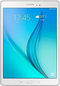 """Samsung Galaxy Tab A SM-T550NZWADBT, 9.7 WiFi - Tablet de 9.7"""" (WiFi, Quad Core de 1.2 GHz, 16 GB, Android 5.0 Lollipop), Blanco [Importado de Alemania]"""