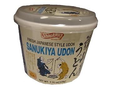 Shirakiku Udon Cup Nama Sanukiya, 7.76-Ounce Units (Pack of 12) from Shirakiku