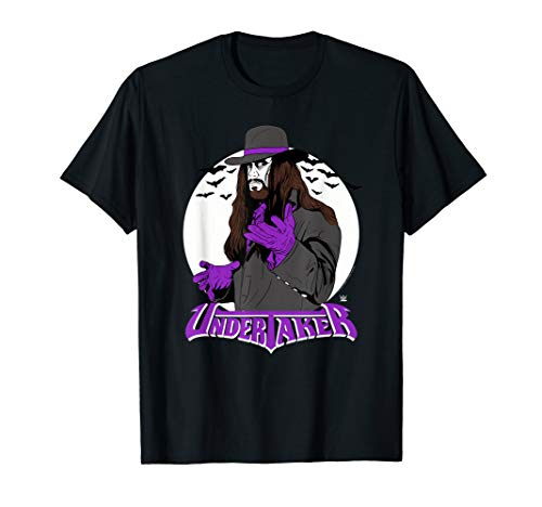 WWE Vintage Undertaker with Logo T-Shirt