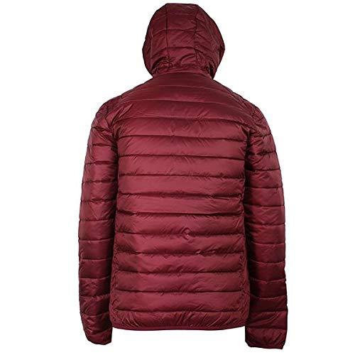 Untie Lombardy Jacket amp; Wq0ocrx Ellesse Puffer Burgundy OwfYzn