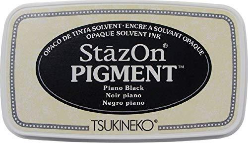 Stazon Pigment Ink Pad-piano Black ()