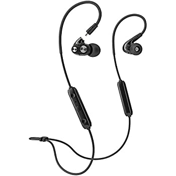 659fde9b53e Bluetooth Headphones Wireless Earphones in-Ear Monitors Earbuds with  Microphones HD Stereo Bass Headsets for Sport