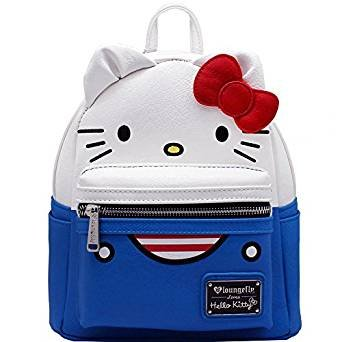 Loungefly X Sanrio Hello Kitty Suit Mini Festival Backpack (One Size, Multi)