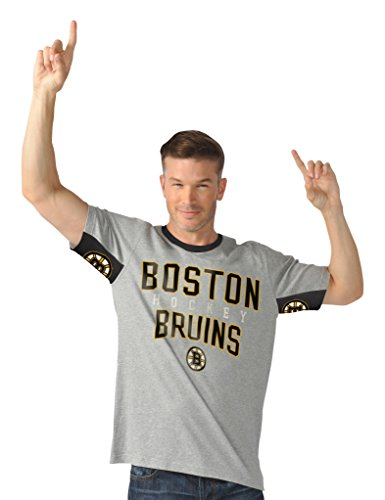 Hands High Cut Back Short Sleeve Fashion Top, SM, Heather Grey (Top Boston G-iii Bruins)