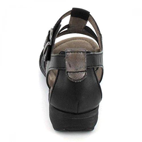 Soft Line Sandalette , Farbe: schwarz