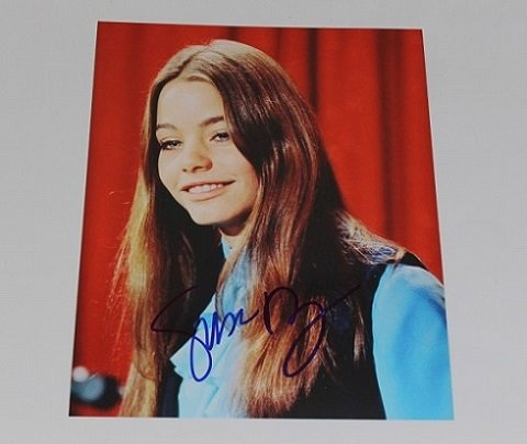 The Partridge Family C'mon Get Happy Laurie Partridge Susan Dey Hand Signed Autographed 8x10 Glossy Photo Loa