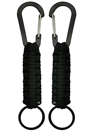 Amazon.com: Llavero con mosquetón militar trenzado con ...