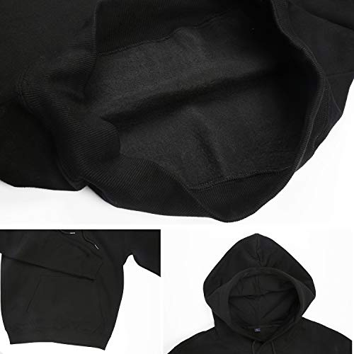 a789cfb5 Iushfss Black Hoodie for Women Friends-Happy-Together- Sweatshirt Winter  Fleece Casual Pullover