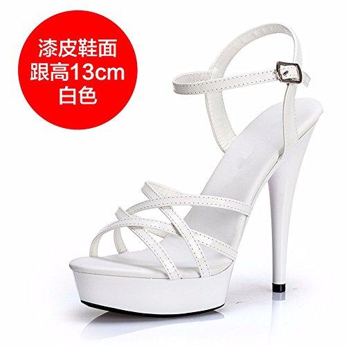 Moda donna partito scarpe alto sexy tacco alto c scarpe tacco di Estate antiscivolo FLYRCX qF4xnRw
