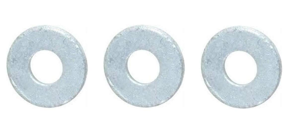 Hot-Dipped Galvanized Finish 13//16 ID 0.148 Thick 2 OD 3//4 Screw Size Pack of 25 ASME B18.22.1 Steel Flat Washer