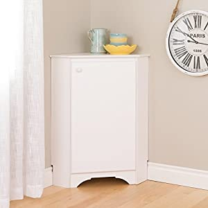 Amazon.com: Prepac WSCC-0603-1 Elite Home Storage Corner Cabinet ...