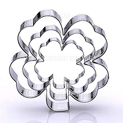 Clover Cookie Cutter Set - Stainless Steel