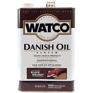 (RustOleum/Watco #65331 Black Walnut Danish Oil, 1 Gallon by Watco)