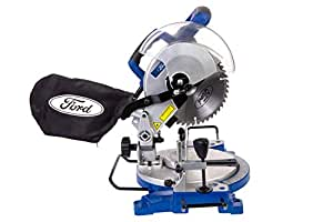 Ford 1500 Watts 210mm Bevel Cutting Compound Mitre Saw, Corded Electric 8 inches Wood Cutter, High Quality Wood Working Power Tool