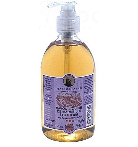 Marius Fabre Lavender Marseilles Liquid Soap 500ml 16.9oz